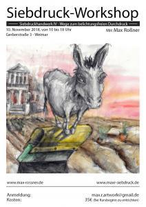 Siebdruckhandwerk IV - Grundlagenkurs G3, Weimar